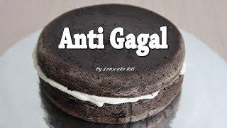 Resep Cara Membuat Kue Bolu Enak Anti Bantat    Base Cake Kue Ulang Tahun Coklat Blackforest