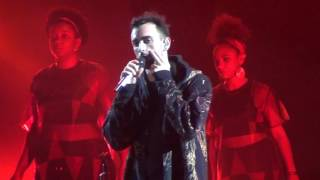 "MARCO MENGONI PALALOTTOMATICA 13/5/16 ""GUERRIERO"""