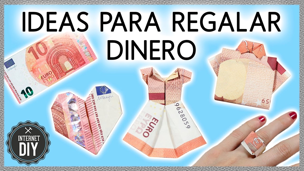 Ideas originales para regalar dinero ideas f ciles en - Algo original para regalar ...