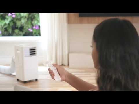 Eco Cube Ar Condicionado Portatil Da Elgin Youtube