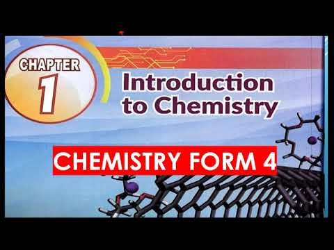 CHEMISTRY FORM 4- Chapter1(1.1-1.3)|Introduction to Chemistry