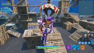 They play with a bot (I'm the bot) Fortnite