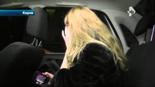 Пьяная автоледи устроила эмоциональный взрыв в Кирове