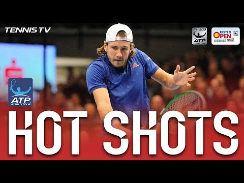 Hot Shot: Pouille Shows Deft Touch In Vienna Final 2017