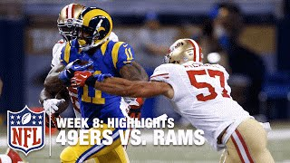 49ers vs. Rams | Week 8 Highlights | NFL