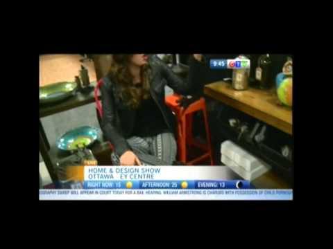 CTV's Sarah Freemark visits Neo Vintage at the Ottawa Home & Design Show