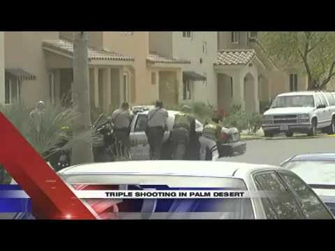Triple Shooting In Palm Desert