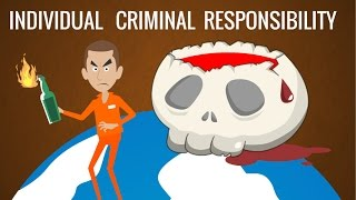 Individual Criminal Responsibility, International Law Animation