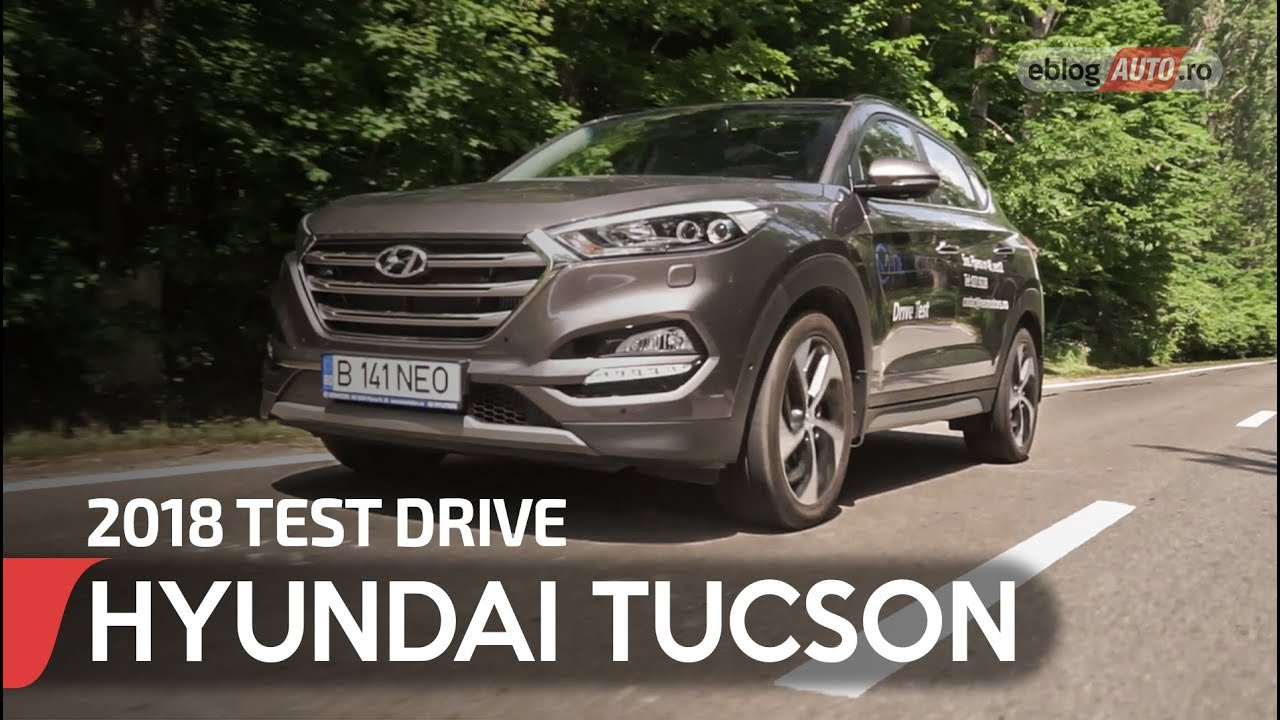 2018 hyundai tucson 4wd test drive eblogauto youtube. Black Bedroom Furniture Sets. Home Design Ideas