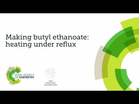 Practical Skills Assessment Video - Making Butyl Ethanoate Video 1 : Heating Under Reflux