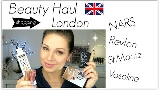 London Beauty Haul // Nars, Revlon, St.Moritz // Mamacobeauty