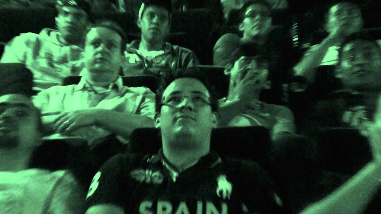 película Exorcismo Documentado reacciones de la gente en los cines