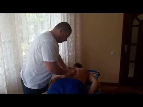 Костоправ убрал ноющие поясничные боли./ Corectie vertebrala/Chiropractic.