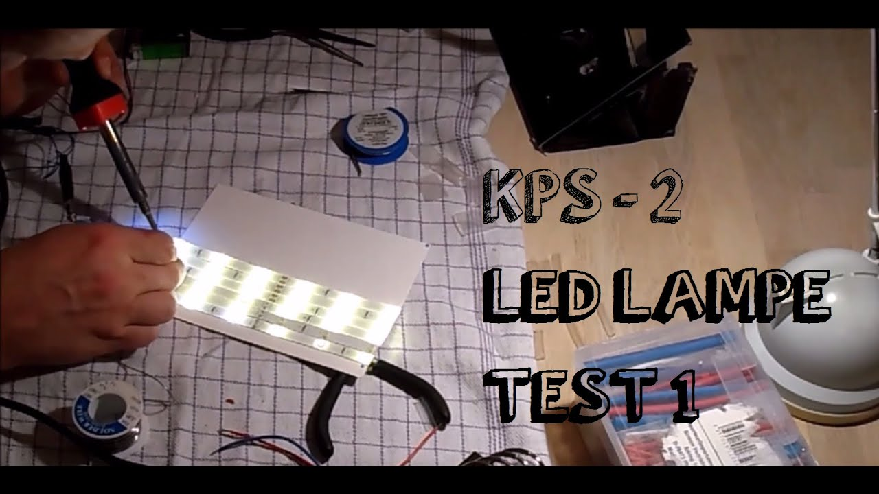 Klar parat start 2 led lampe test 1 youtube 2 led lampe test 1 parisarafo Images