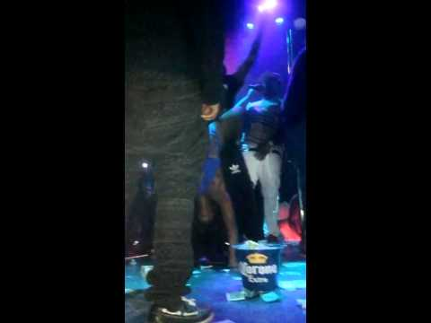 Lady Ice dances with Snoop dogg in Toronto at Strip club House of Lancaster