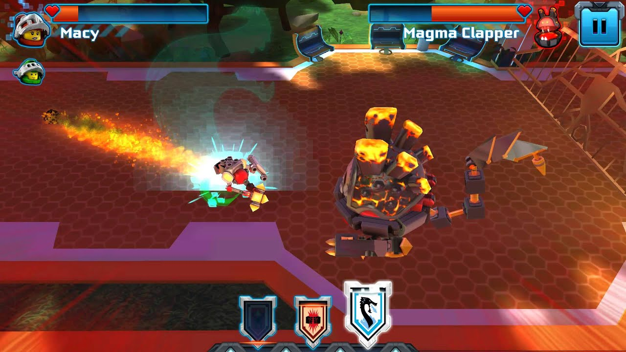 lego nexo knights merlok 2 0 app gameplay 3