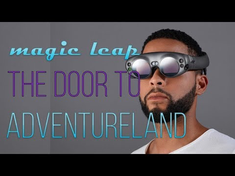Your Ticket To Adventure Land!! Magic Leap Unveils Mixed-Reality Goggles