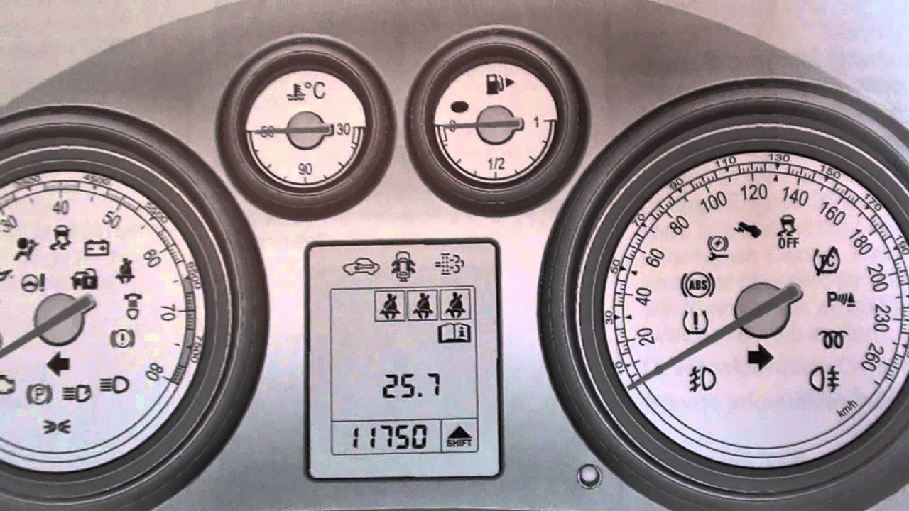Vauxhall Insignia Dash Warning Lights Heres What They Mean Youtube