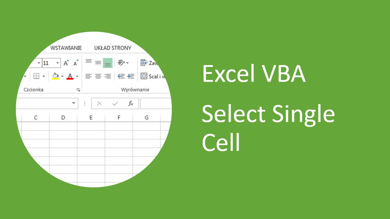 How To Select Cell Range In Excel - excel vba how to select