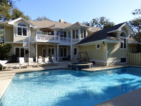 Hilton Head Island Second Row Ocean Front Home For Sale in Palmetto Dunes