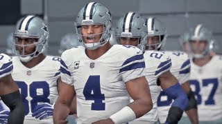 Madden NFL 18  Week 9 Gameplay Dallas Cowboys vs Kansas City Chiefs