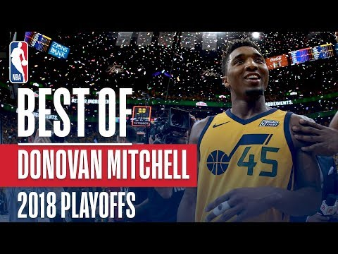 Donovan Mitchell's Best Plays | 2018 NBA Playoffs