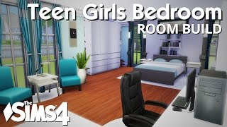 The Sims 4 Room Build - Teen Girls Bedroom