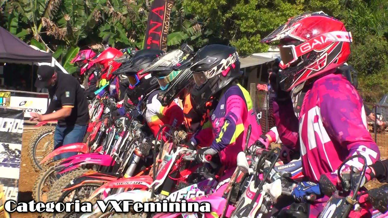 Disputa equilibrada e gate cheio na corrida da VX Feminina em Schroeder SC