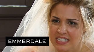Emmerdale - Carly Blames Bob For Ruining Her Wedding