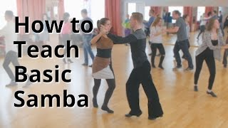 Workshop - How To Do Basic Samba For Beginners   Latin Dance