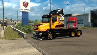 Euro Truck Sim with Mark's dad ( Neil the Seal )