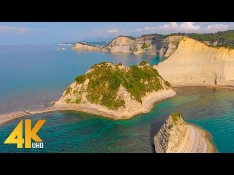 Corfu - The Pearl of Greece - 4K Scenic Nature Film with Calming Music