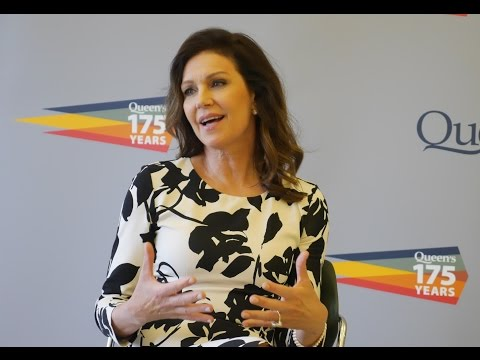 Actress Wendy Crewson's honorary degree speech at Queen's University