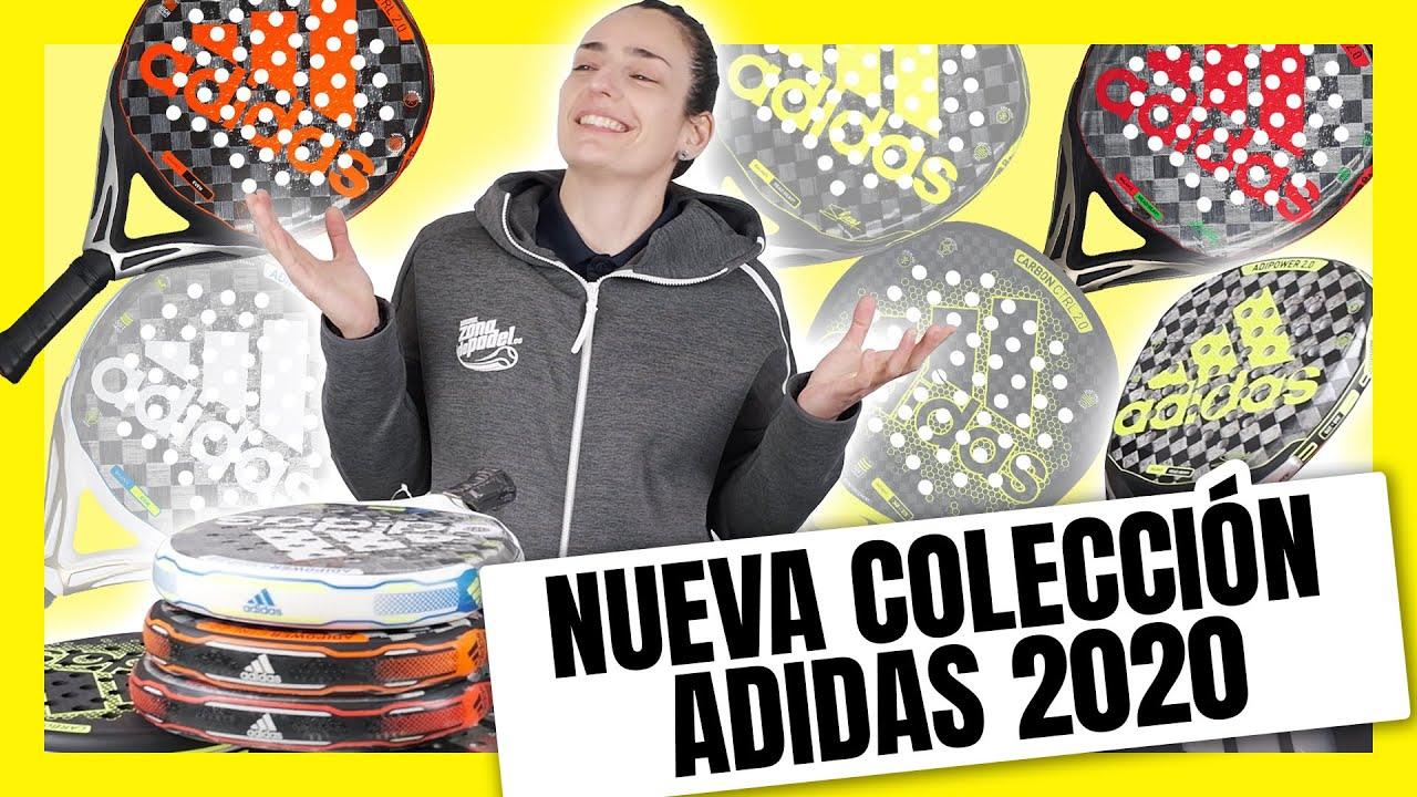 mezcla Cesta Reino  Nueva Colección Palas de pádel Adidas 2019 - YouTube