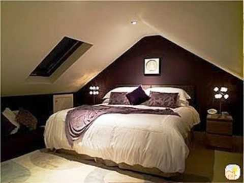 decorating attic bedrooms Low Ceiling Attic Bedroom - YouTube
