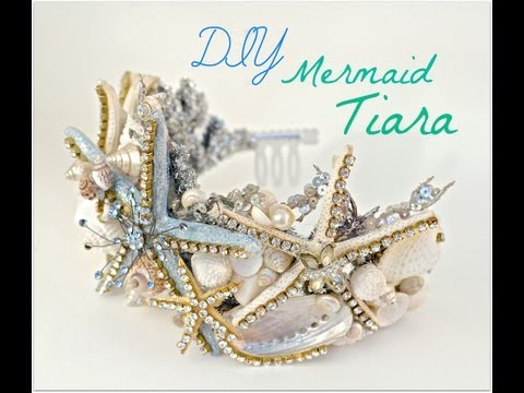 DIY Seashell crown/ Mermaid Tiara