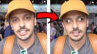NÃO TENTE FAZER ISSO COM O OLHO!!