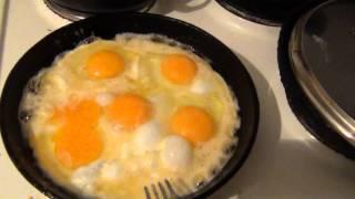 Как правильно готовить глазунью