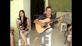 Irmão Marcos e Meninas de Janiópolis cantando Hino 329
