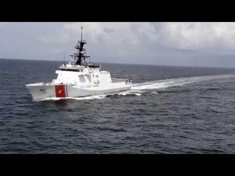 USCGC Hamilton, WMSL 753, Builder's Sea Trials