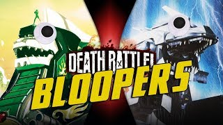 Dragonzord VS Mechagodzilla BLOOPERS!