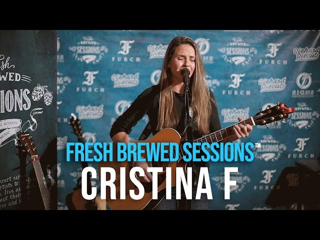 #acoustic #singersongwriter Cristina F | Interested In You | Fresh Brewed Sessions
