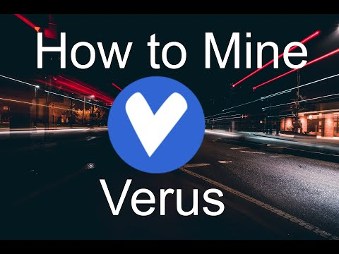 How To Mine Verus Coin In 2 Minutes (Linux)