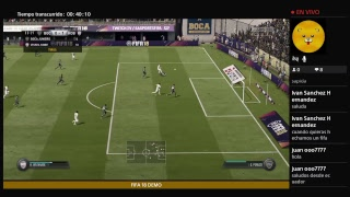 FIFA 18 DEMO GAMEPLAY!!! COMENTANDOLA