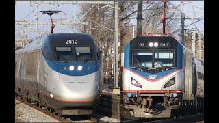 Amtrak Acela & ACS-64 Horn Compilation!