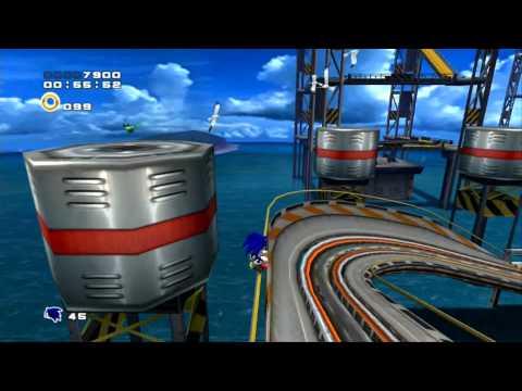Sonic Adventure 2 HD (PS3): Metal Harbor - A-Rank (Bottom Rocket Handle)