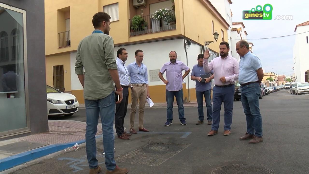 A punto de concluir las importantes obras de mejora en la calle José Luis Caro