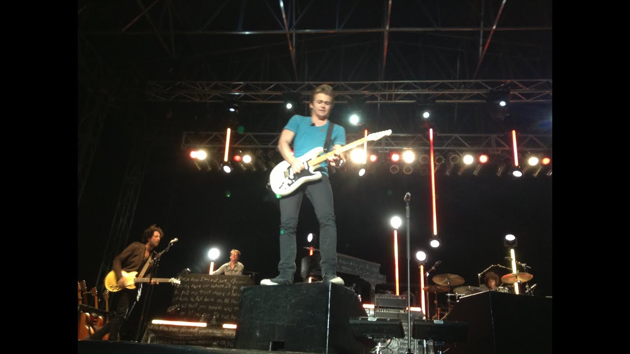 HUNTER HAYES CONCERT! - August 6, 2013 - YouTube