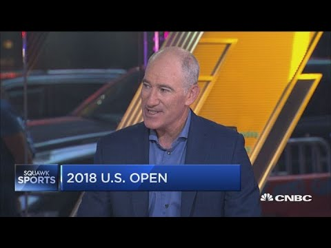Tennis Pro Brad Gilbert On The US Open