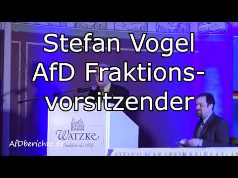 Redebeitrag Stefan Vogel AfD im Ballhaus Watzke